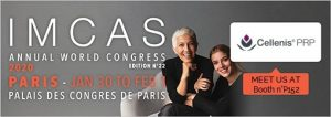 IMCAS World Congress 2020 January 30 – February 2 in Paris