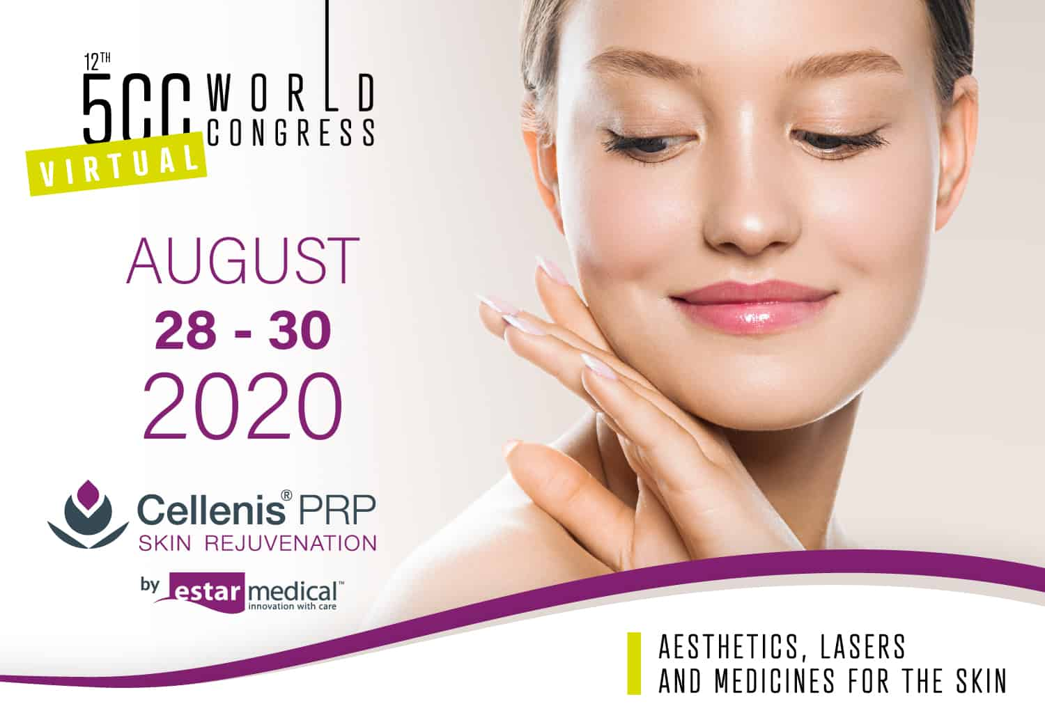 5CC Virtual Aesthetics World Congress – August 28-30 2020
